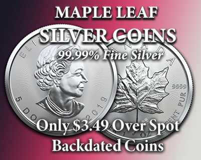 Maple Leaf Silver Coins