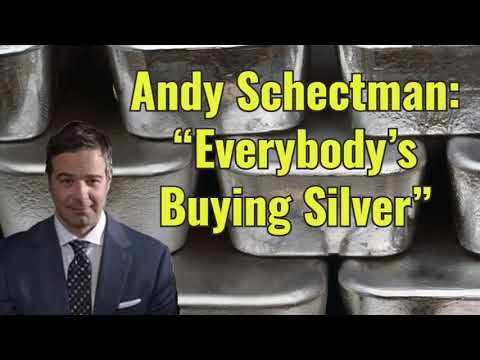 """Andy Schectman: """"Everybody's Buying Silver"""""""