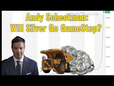 "Andy Schectman: Will silver ""go GameStop?"""
