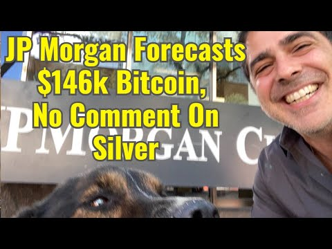 JP Morgan Predicts $146k Bitcoin, No Comment On Silver
