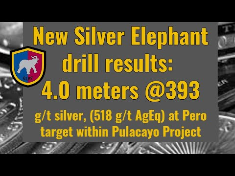 New Silver Elephant drill results: 393 g/t silver (518 g/t AgEq)