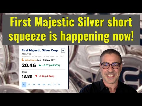 First Majestic Silver short squeeze is happening now!