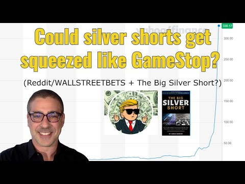 Could silver shorts get squeezed like GameStop? (Reddit/WALLSTREETBETS + The Big Silver Short?)
