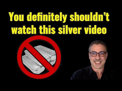 You definitely shouldn't watch this silver video