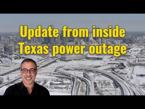 Live update from inside the Texas power outage
