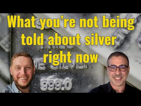 What you're not being told about silver right now