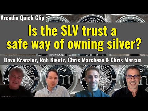 Is the SLV trust a safe way of owning silver?