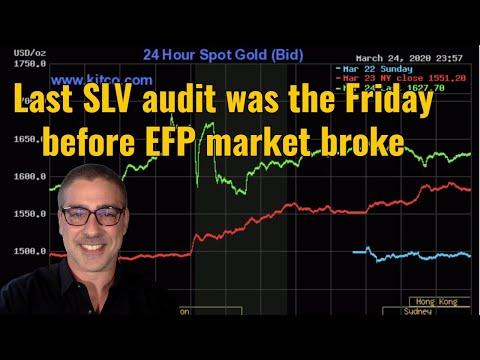 Last SLV audit was the Friday before EFP Market Broke