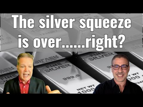 The silver squeeze is over....right?