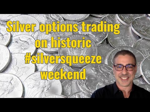 Silver option trading on historic #silversqueeze weekend