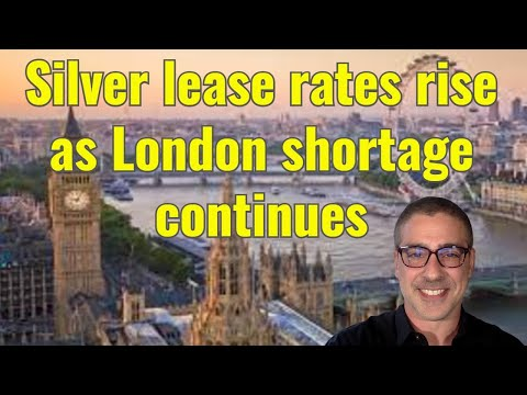 Silver lease rates are rising, here's what it means: w/David Jensen