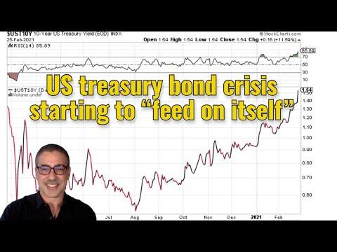 "US treasury bond crisis starting to ""feed on itself"""