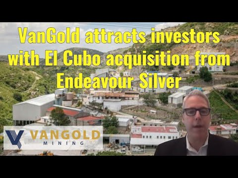 VanGold attracts investors with El Cubo acquisition from Endeavour Silver