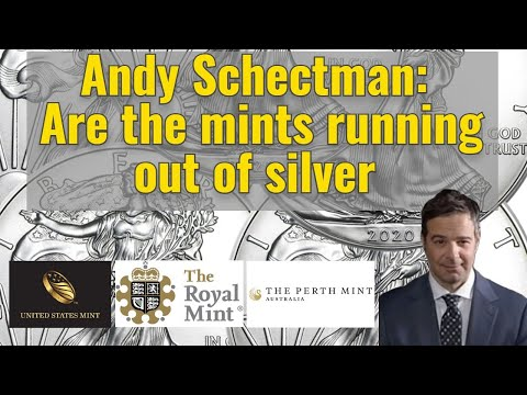 Andy Schectman: Are the mints running out of silver?