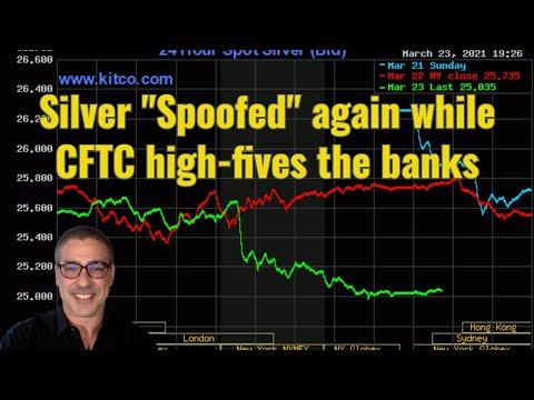 "Silver ""Spoofed"" again while CFTC high fives the banks"