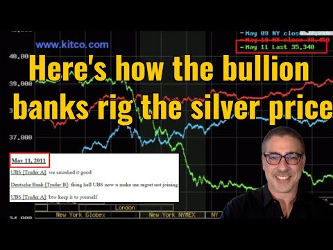 Here's how the bullion banks rig the silver price (your lawyer will love this one!)