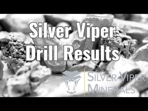 Silver Viper new drill results
