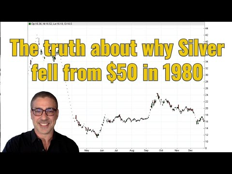 The truth about why Silver fell from $50 in 1980