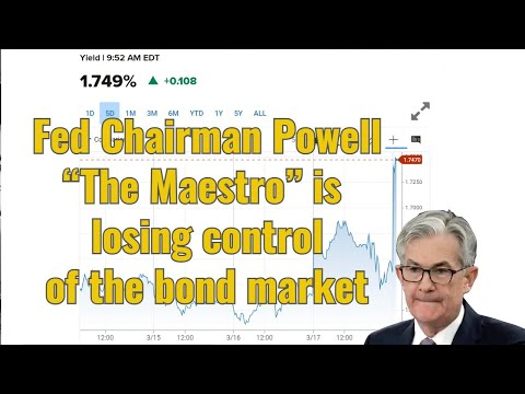 "Fed Chairman Powell ""The Maestro"" is losing control of the bond market"