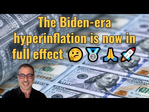 The Biden-era hyperinflation is now in full effect 🤔🥈🙏🚀
