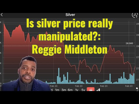 Is silver price really manipulated?: Reggie Middleton