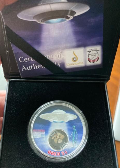 Area 51 coin