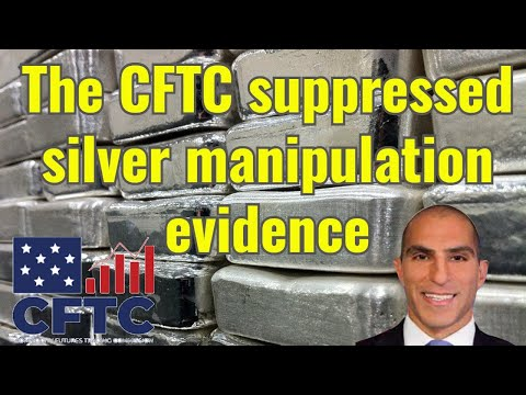 The CFTC suppressed silver manipulation evidence