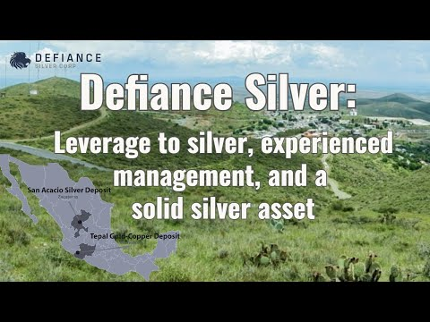 Defiance Silver: Leverage to silver, experienced management, and a solid silver asset