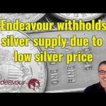 Endeavour withholds silver supply due to low silver price