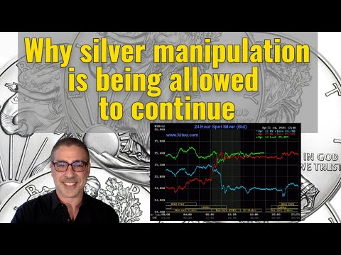 Why silver manipulation is being allowed to continue