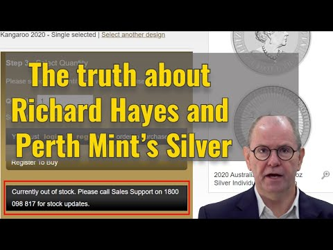 The truth about Richard Hayes and Perth Mint's Silver