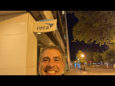 My experience with FINRA