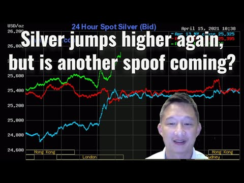 Silver jumps higher again, but is another spoof coming?