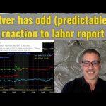 Silver has odd (predictable?) reaction to labor report