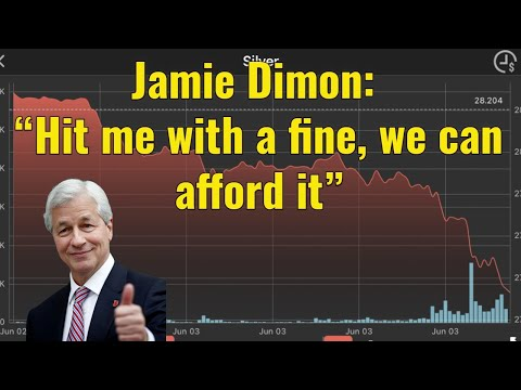 """Jamie Dimon: """"Hit me with a fine, we can afford it"""""""