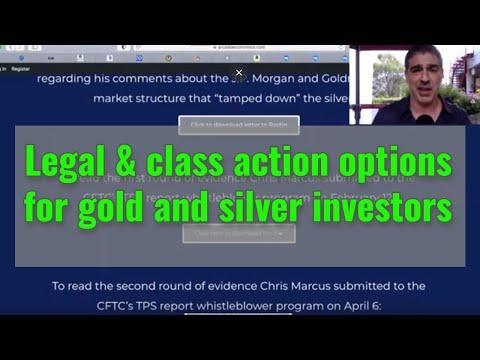 Silver manipulation class-action suit update: JP Morgan, CFTC, Goldman Sachs...