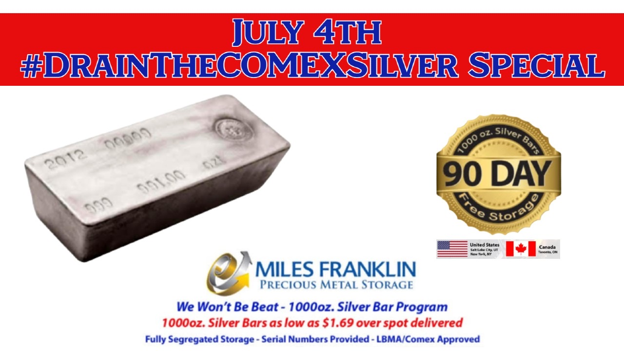Drain the Comex Silver Special