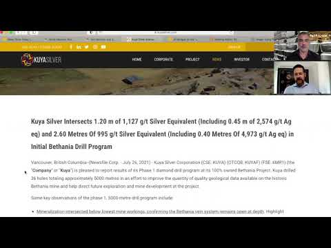 Kuya Silver successfully expands Bethania silver mineralization