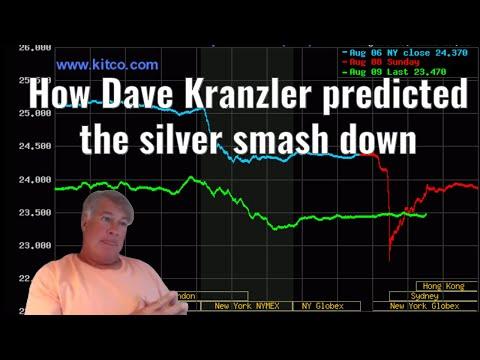 How Dave Kranzler predicted the silver smash down