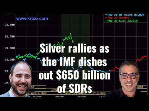 Silver rallies as the IMF dishes out $650 billion of SDRs