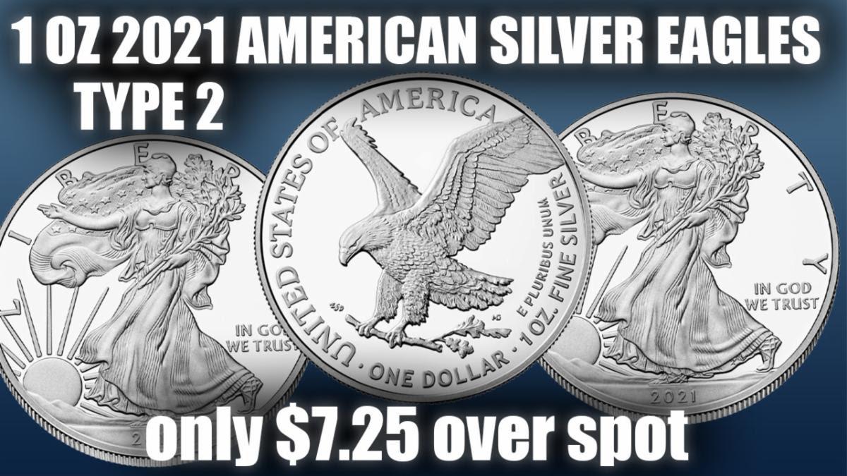 Miles Franklin 2021 American Silver Eagles