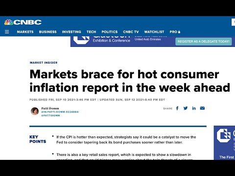 "Markets brace for ""hot"" 🔥🔥 CPI report tomorrow"